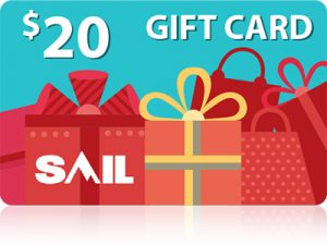 $20 Gift Card at Sail